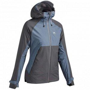 Женская куртка для горных походов MH500 водонепроницаемая QUECHUA