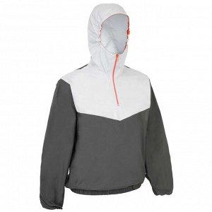 Куртка Легкая куртка защищает от ветра. Куртка имеет ветронепроницаемый капюшон, который повторяет движения головы, низ и манжеты рукавов на резинке. Ткань водонепроницаема под дождем в течение 2 часо