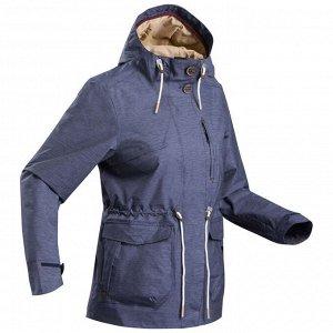 Куртка женская для походов на природе водонепроницаемая – NH550 QUECHUA