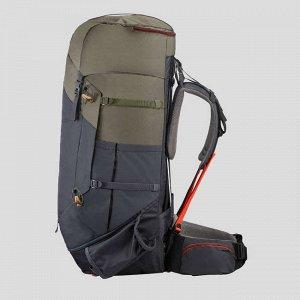 Женский рюкзак для горного трекинга – TREK 100 Easyfit – 60 л FORCLAZ