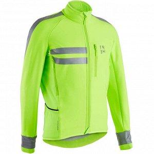 Зимняя куртка для занятий велоспортом RC500 муж. TRIBAN