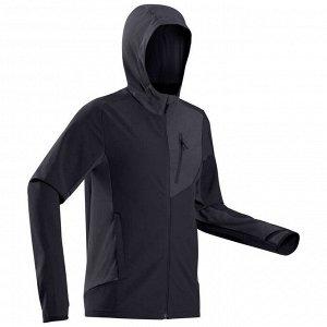 Куртка мужская ветрозащитная для горных походов – TREK 900 WIND FORCLAZ