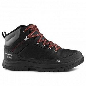 Ботинки теплые водонепроницаемые походные мужские SH100 ULTRA-WARM QUECHUA