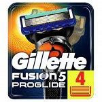 GILLETTE FUSION ProGlide Сменные кассеты для бритья (4 шт.)