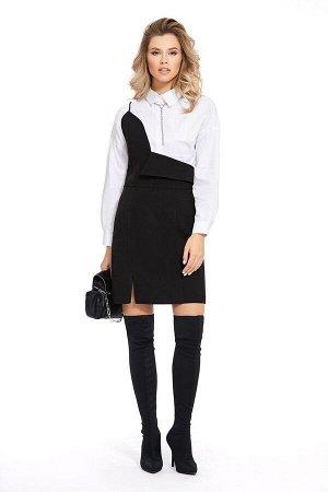 Рубашка, сарафан PiRS Артикул: 930 белый+черный