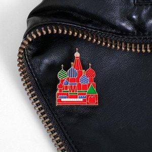 Значок «Москва. Собор Василия Блаженного» 3998959
