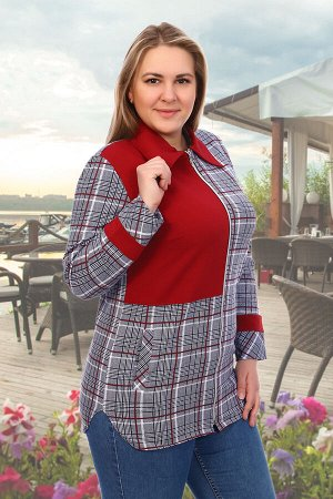 Блузка Дунай
