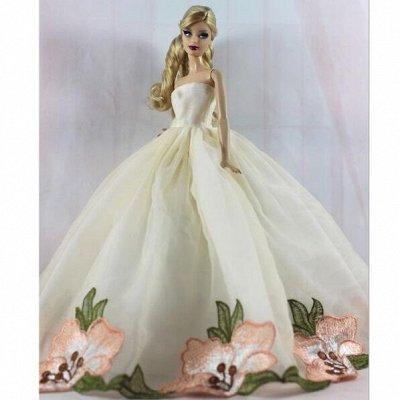 Детский мир: одежда, обувь, аксессуары, игрушки. Наличие! — Бальные, свадебные и простые платья для кукол 29 см — Куклы и аксессуары