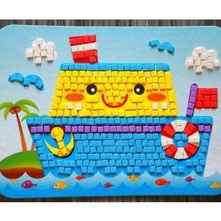 Детский мир: одежда, обувь, аксессуары, игрушки. Наличие! — Мозаика EVA-квадратики, кружочки и с кристаллами — Мозаики и фреска