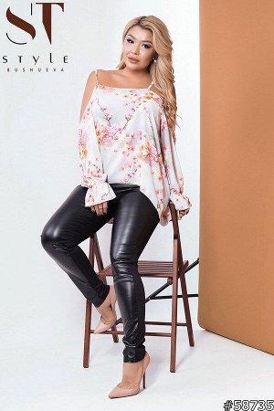 Костюм  58735 (блузка+лосины)