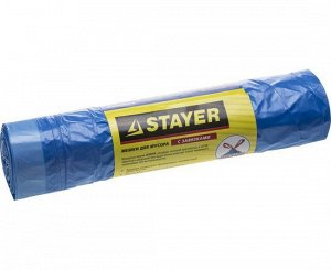 "Мешки для мусора STAYER ""Comfort"" завязками"