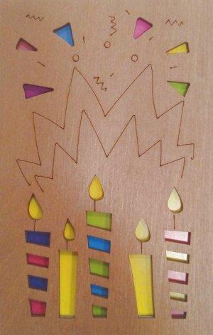 ОТК0027 Стильная деревянная открытка _стр., 140х90х3 мм, Пакет