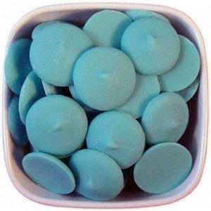 Глазурь кондитерская Диски голубые с молочным вкусом