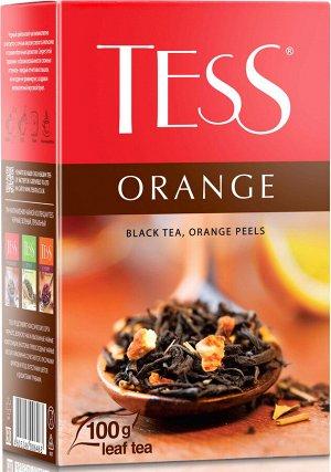 Чай Тесс Orange black tea 100гр