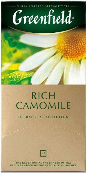 Чай Гринфилд Rich Camomile 25пак