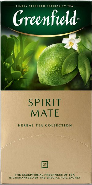 Чай Гринфилд Spirit Mate 25пак