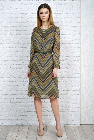Комплект: платье с жакетом