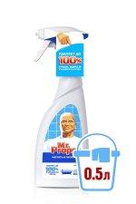 Универсальный чистящий спрей MR PROPER  с отбеливателем Чистота и гигиена Эвкалипт  (500 мл)