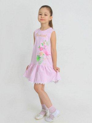"""Платье """"Морская волна-1"""" с шелкографией"""