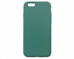 Чехол iPhone 6/6S Liquid Silicone FULL (темно-зеленый)