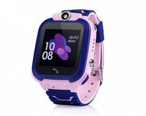 Умные часы детские E02 розовые