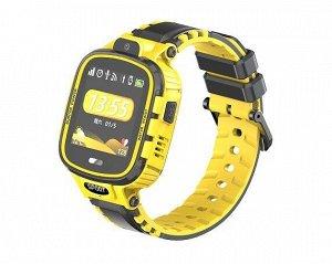 Умные часы детские TD-26 черно-желтые