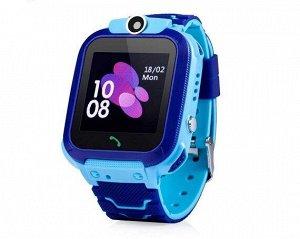 Умные часы детские E02 голубые