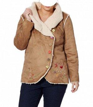 Куртка, светло-коричневая