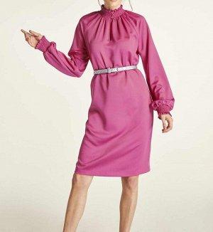Платье, цикламен