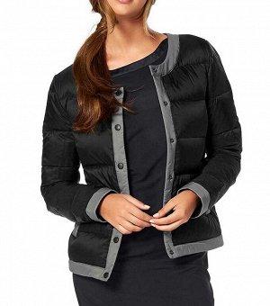 Куртка, черно-серая