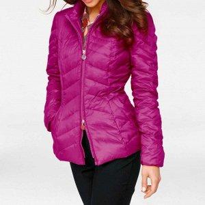 Пуховая куртка, розовая