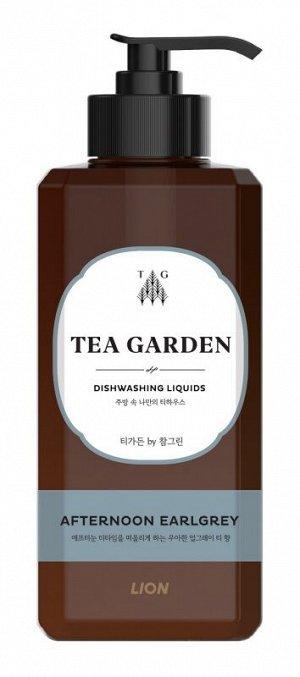 LION Концентрированное средство для мытья посуды Chamgreen Tea Garden Бергамот, флакон, 500 гр