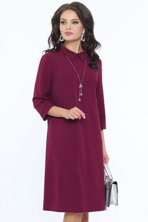 Платье Приличная леди, бордо