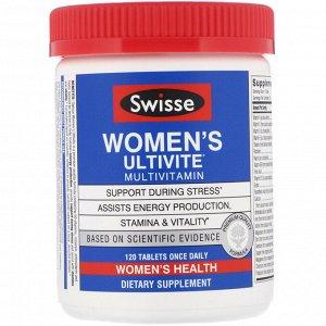 Swisse, Women&#x27 - s Ultivite, мультивитамины, 120 таблеток