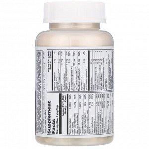 Solaray, Женские мультивитамины, один раз в день, 90 растительных капсул