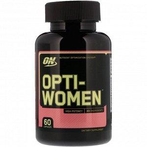 Optimum Nutrition, Opti-Women, 60капсул