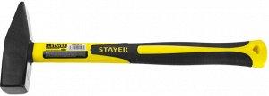 STAYER Fiberglass 800 г молоток слесарный с фиберглассовой рукояткой
