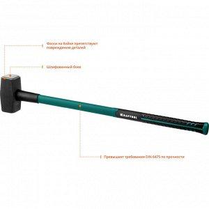KRAFTOOL Fiberglass 5 кг кувалда с фиберглассовой удлинённой рукояткой