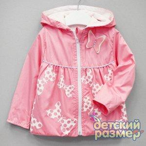 Плащ По 1 шт КАЖДОГО РАЗМЕРА Плащ-ветровка от бренда Baby Rose для девочек: - верх из непродуваемой плащевки (приятный и не сильно шуршащий материал) - подклад из тонкого хлопкового трикотажа (по всем