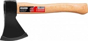 Топор 1000 кованый с деревянной рукояткой 360 мм (общий вес 1100 г) MIRAX