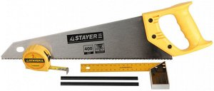 "Набор STAYER ""STANDARD"" для столярных работ: ножовка по дереву 400 мм"