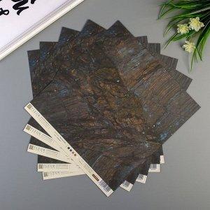 "Набор бумаги для скрапбукинга ""Дерево"", коллекция ""Мистер Грэй"", 30,5х30,5 см, 190 гр/м2"