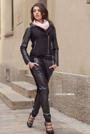 MIRIA брюки (Conte) трикотажные, комбинированные, свободного покроя