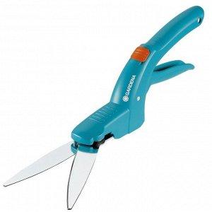 """Ножницы для стрижки травы, 9.8"""" (25 см), пластиковые ручки, GARDENA Classic"""