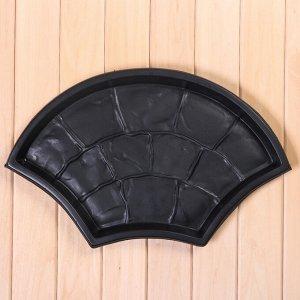 Форма для тротуарной плитки, «Веер», 55 ? 33 ? 4 см, 1 шт.