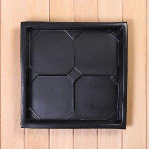 Форма для тротуарной плитки, «Классика», 38 ? 38 ? 5 см, 1 шт.