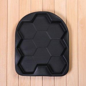 Форма для тротуарной плитки, «Соты», 48 ? 40 ? 5 см, 1 шт.