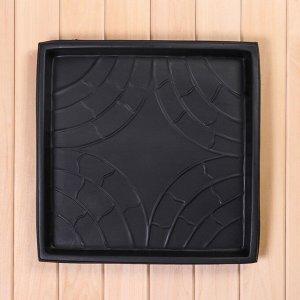 Форма для тротуарной плитки, «Таллинская», 43 ? 43 ? 4 см, 1 шт.