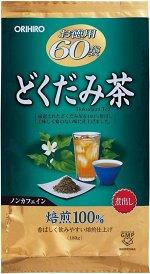 ORIHIRO Dokudami Tea - полезный чай докудами