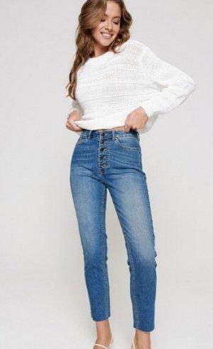 Брюки джинсовые CONTE Eco-friendly джинсы Mom Fit с высокой посадкой CON-189
